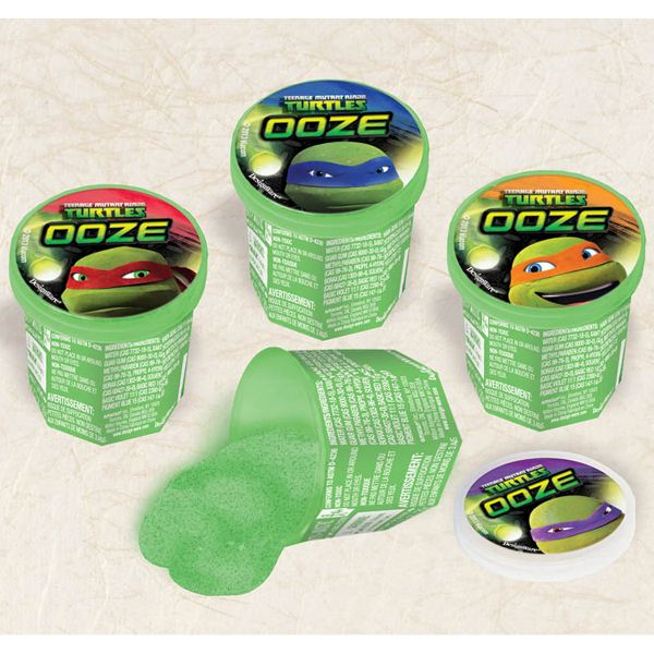 teenage mutant ninja turtle party favor | ... ninja turtles party supplies - teenage mutant turtles ooze putty favor
