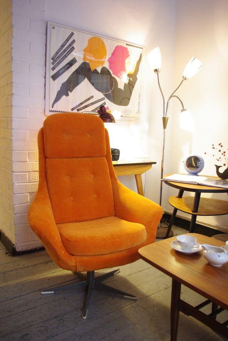 fotel lubuskie fabryki mebli lata 70 | vintage design 70