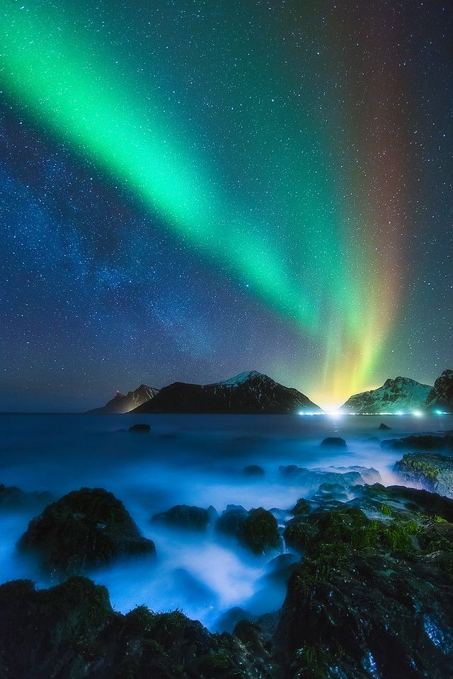 Awash in the Night (Lofoten, Norway) by Dustin Wong