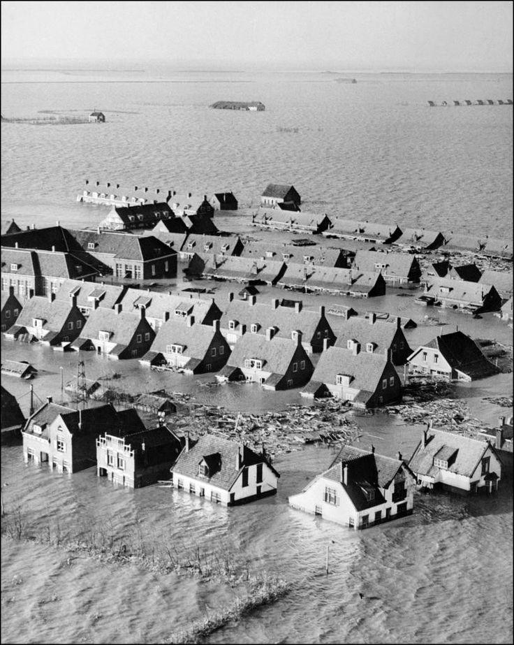 catastrophe 1953 pays-bas | Les Pays-Bas lancent un plan de prévention des inondations - La Croix