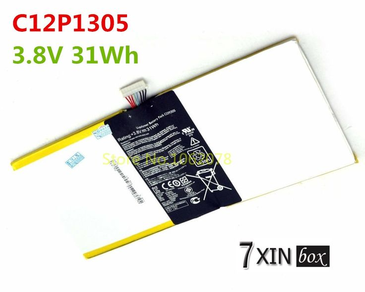 (44.35$)  Buy here - http://aieqq.worlditems.win/all/product.php?id=32490965712 - 3.8V 31Wh Battery C12P1305 For ASUS Transformer Pad TF701T K00C Tablet li-polymer battery pack