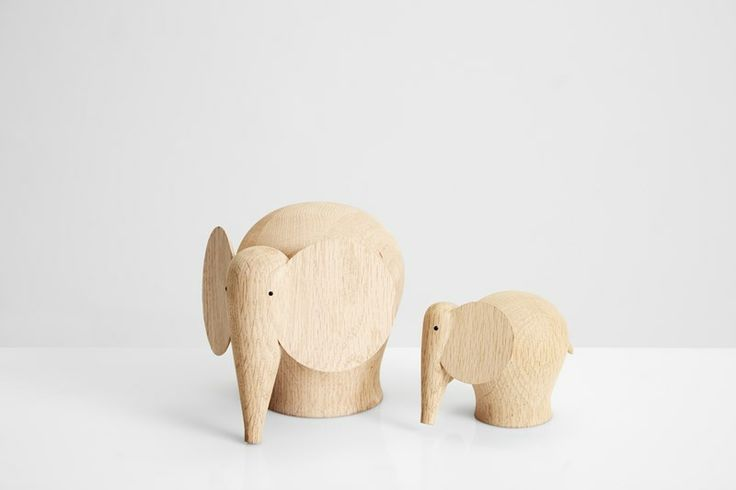 Nunu elephants • Turn the head the way you want and make different expressions • Designed by Danish Steffen Juul #elephant #wood #sculptures #accessories #decoration #danish #design #WOUDdesign