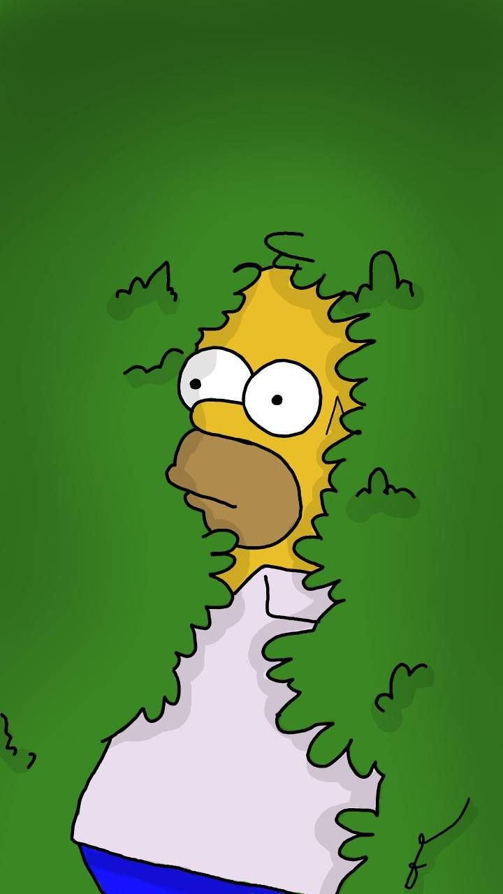Download Homer plant Wallpaper by FacuChamut28 dd Free