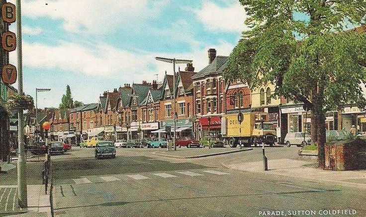 Sutton Coldfield in the 1960s - I went to the College of Further Education here some years later to study Spanish and French