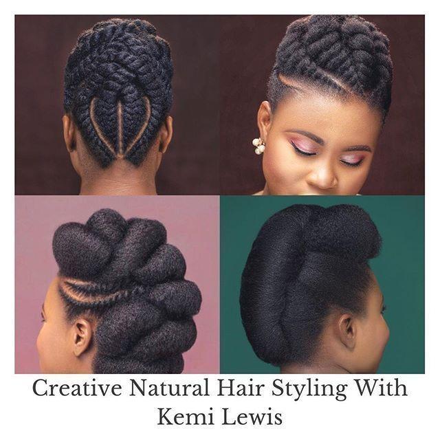 Le Plus Recent Images Coiffures Nappy Concepts Braided Hairstyles Into A Bun Braid Chignon Sur Cheveux Naturels Coiffure Cheveux Naturels Images Coiffure