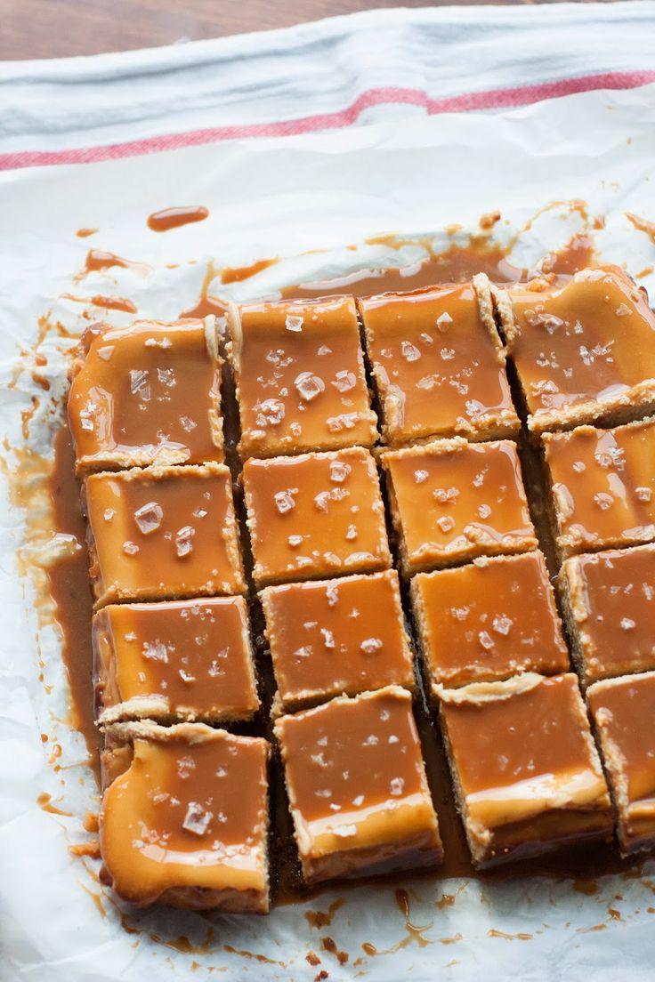 Duche de Leche Cheesecake Bars