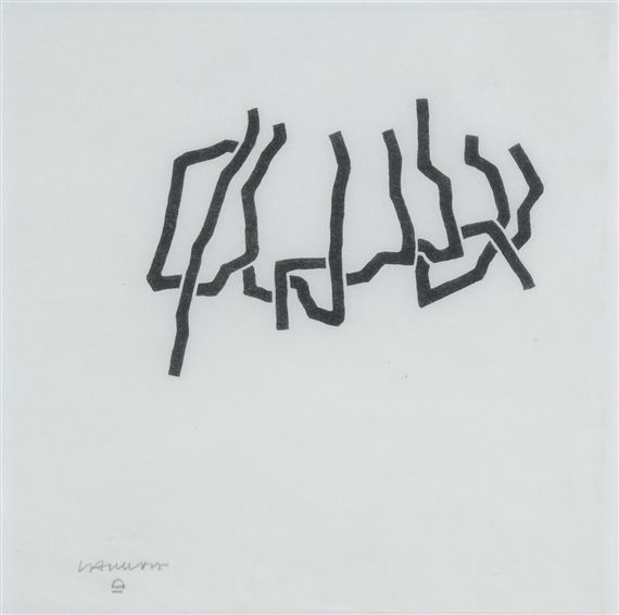 Artworks Of Eduardo Chillida Spanish 1924 2002 Sale Artwork Artwork Lithograph