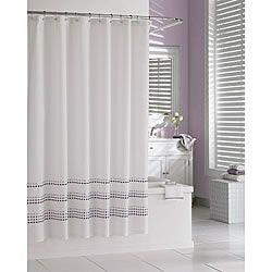 Tribeka Cotton Lavender Shower Curtain | Overstock.com Shopping - The Best Deals on Shower Curtains