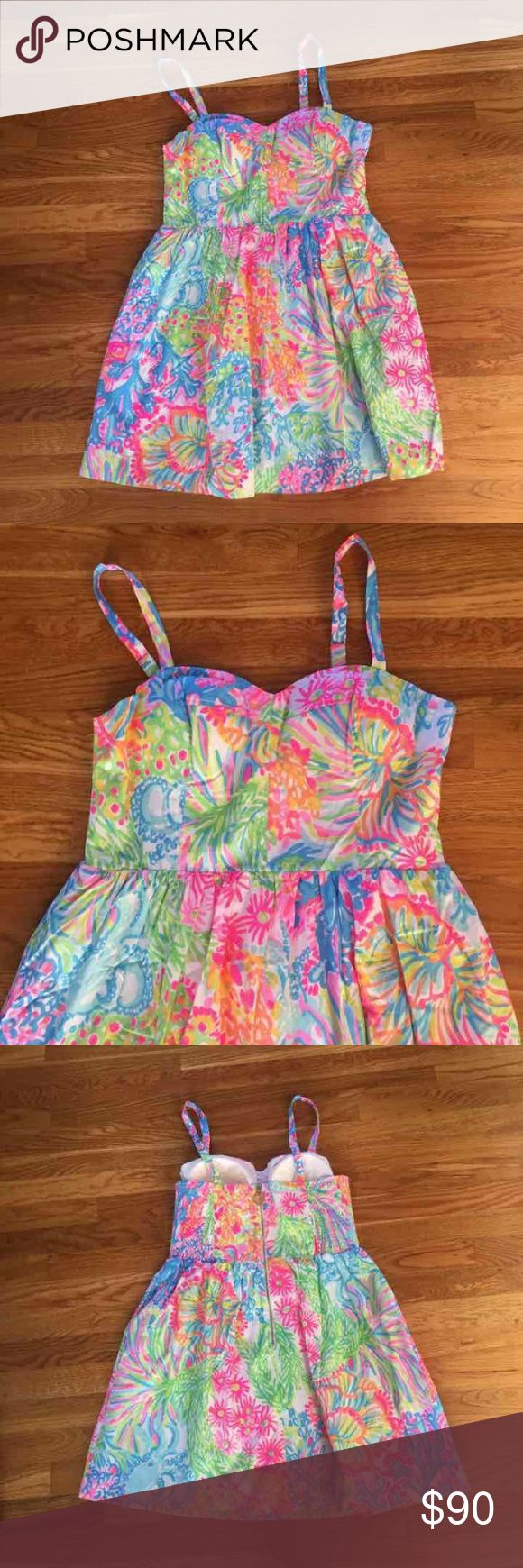 ❗️SALE❗️$178 Lilly pulitzer dress sz 10 New with tags $178 Lilly pulitzer arsleigh dress I lovers coral sz 10// brand new, perfect condition, never worn before. Lilly Pulitzer Dresses