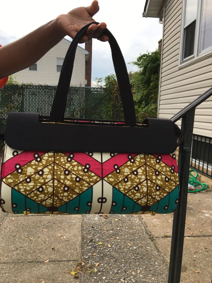 African bag/Ankara/African purse/ African fabric by Abrasbests on Etsy