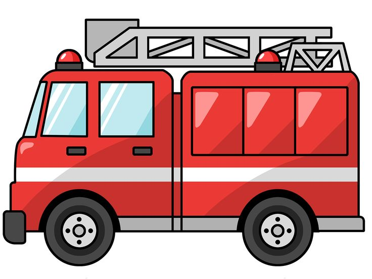 Free domain-fire truck clipart