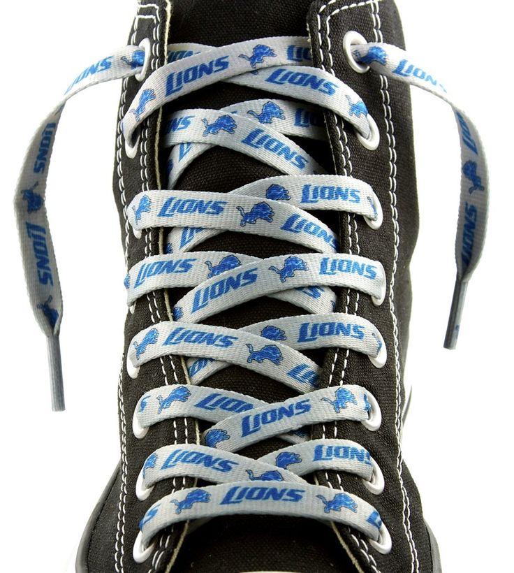 Detroit Lions NFL Shoe Laces – 54″