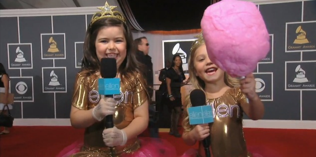 sophia grace and rosie meet russell brand part 2