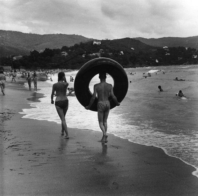 Cavalaire août 1959
