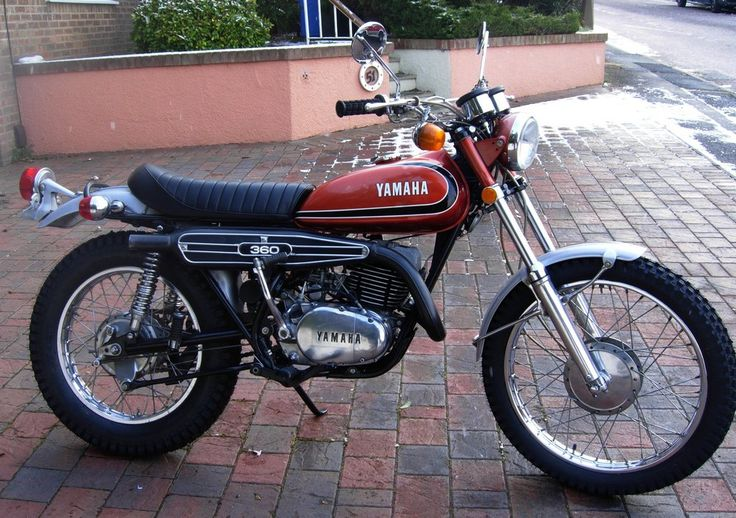 Yamaha 36 Rt3 1973 Cool Motorcycles Pinterest Dirt