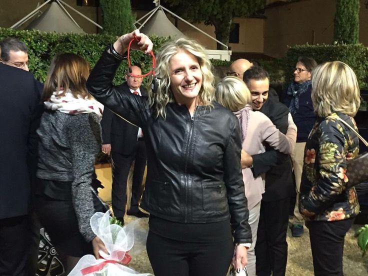 Festa del primo anno di attività. The winner is: Silvia!
