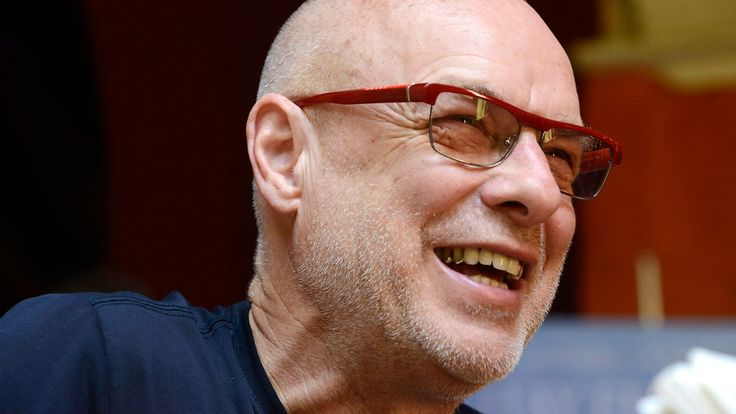 Brian Eno speaks. As expected, the former Roxy Music man's talk was full of pearls of wisdom