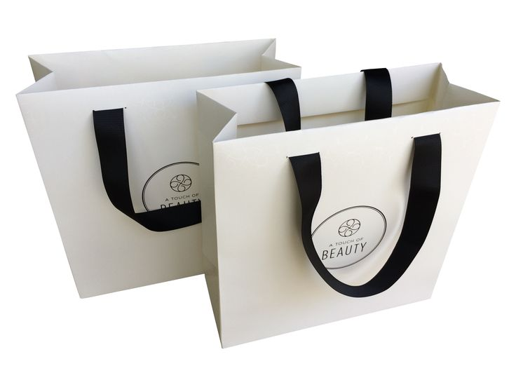 Classic Boutique Paper Bags Branded Gift Bags Event Bags