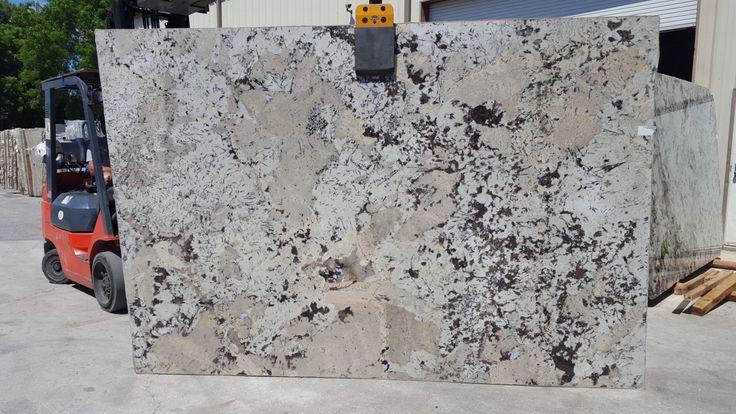 Alaskan Cream Granite Slab