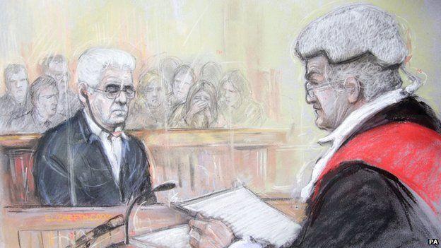 Max Clifford sentencing...oh dear ..