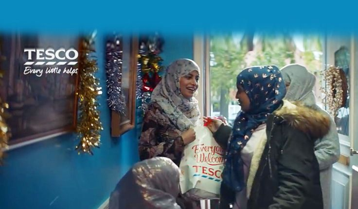 A Christmas ad for the UK supermarket chain Tescos that includes a Muslim family garnered strong reactions in the country. What do you think of the ad?