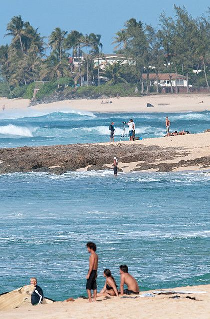 Sunset Beach Park, Haleiwa, North Shore of Oahu, Hawaii