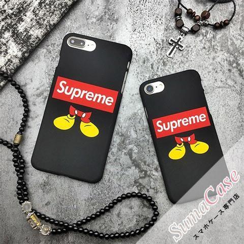 SUPREME(シュプリーム)ブランド Supreme × Disney Mickey Mouse 2009AW コラボモデル ディズニー ミッキーマウス カバー型 PCハードケース for iPhone8/7S/7/6S/6/Plus #supreme #Disney #Mickey