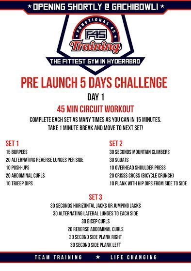 So are you guys ready for the #Challenge .. Let's go ! Day 1 #F45PrelaunchChallenge #Fitness