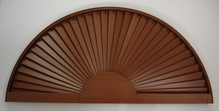 Oval Sunburst Window Treatments