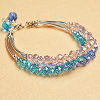 This tutorial is about how to make an easy bracelet within few minutes, if you want to make some simple accessories, try this one!