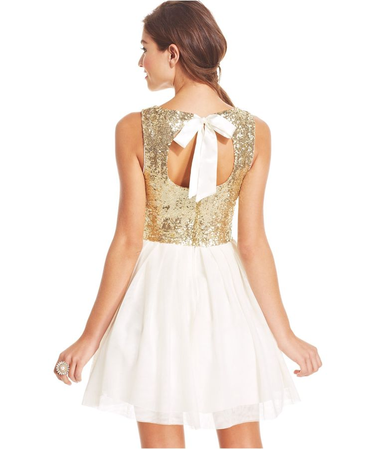 B darlin white dress  girl