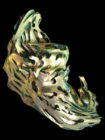 Echinoderm Render, by Marcos Novak