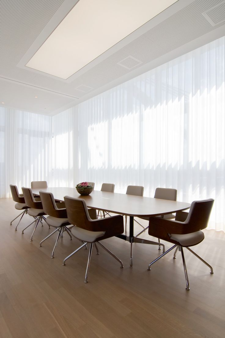 5400: Electric Curtain Track System  Conference Room