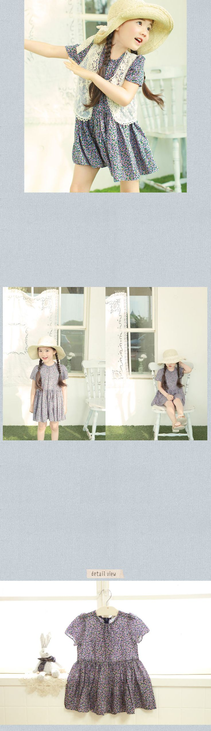 かわいい子供服 | ベビー服 | キッズファッション輸入通販のセレクトショップ【Peach Baby】Amber-pure アンバーピュア クララワンピース