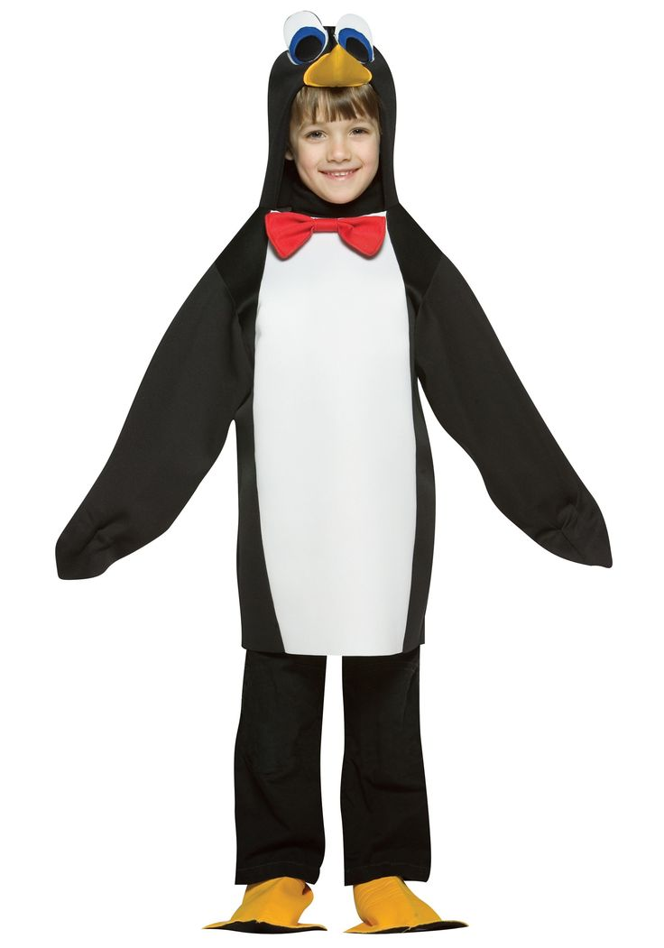 this child penguin costume is a funny kids halloween costume get this cheap kids halloween costume and you are sure to get laughs at your next party - Pictures Of Halloween Costumes For Toddlers