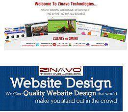 Zinavo Technologies - Web Design Company