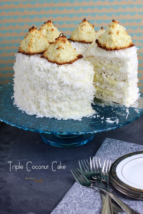 Triple Coconut Cake | Recipe | Cake! Let them Eat Cake ...