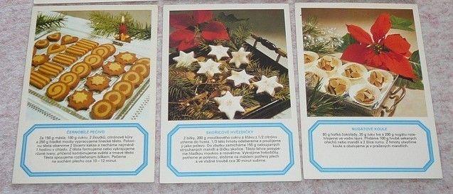 Vánoční recepty-pohledy