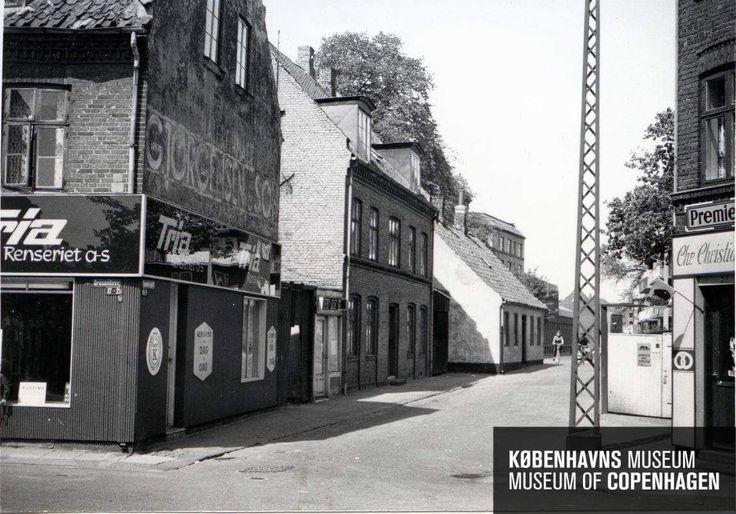 Spaniensgade i 1965. Tidligere Krainsgade, dette navn nedlagt i 1962.