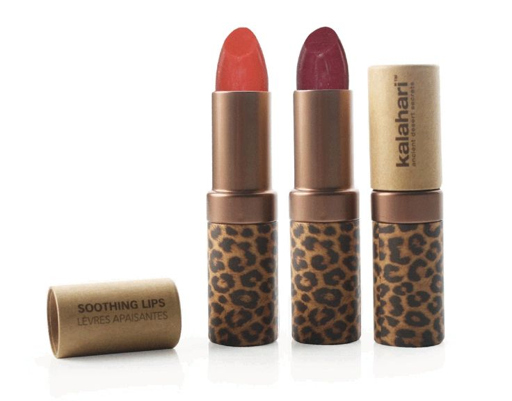 Kalahari Sheer Lip Colour.  Rich in essential fatty acids and vitamins these Lip Colours will calm and sooth dry chapped lips immediately, leaving them smooth and noticeably moist with an intensive gloss and shine. Colours: Desert Rose and Kalahari Sunset.