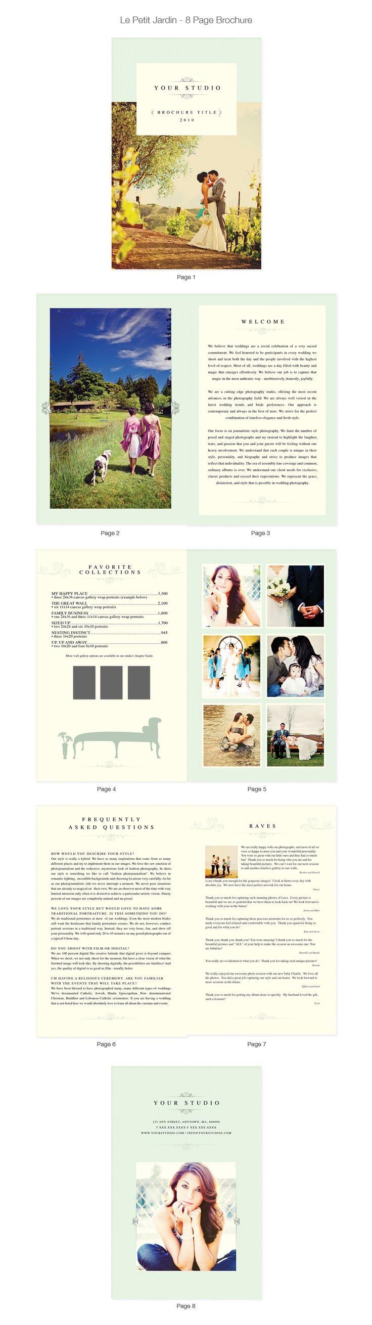 Best Wedding Brochure Images On   Wedding Brochure
