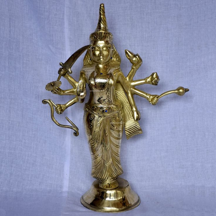 Brass Statue 3 - Badra Kali