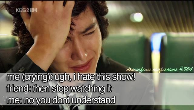 this is true about every k drama I've seen!