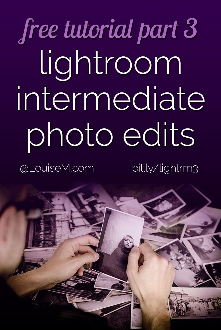 In this Adobe Lightroom free tutorial, you'll learn the intermediate photo editing tools. Improve your pictures with crop, HSL, curves, sharpen, vignette and much more!