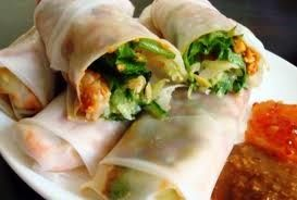 Spring rolls, Hummus and Health on Pinterest