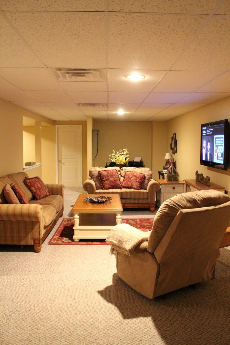 605 n 6th st rochelle il 61068 basement ideas ideas for Basement living room paint ideas