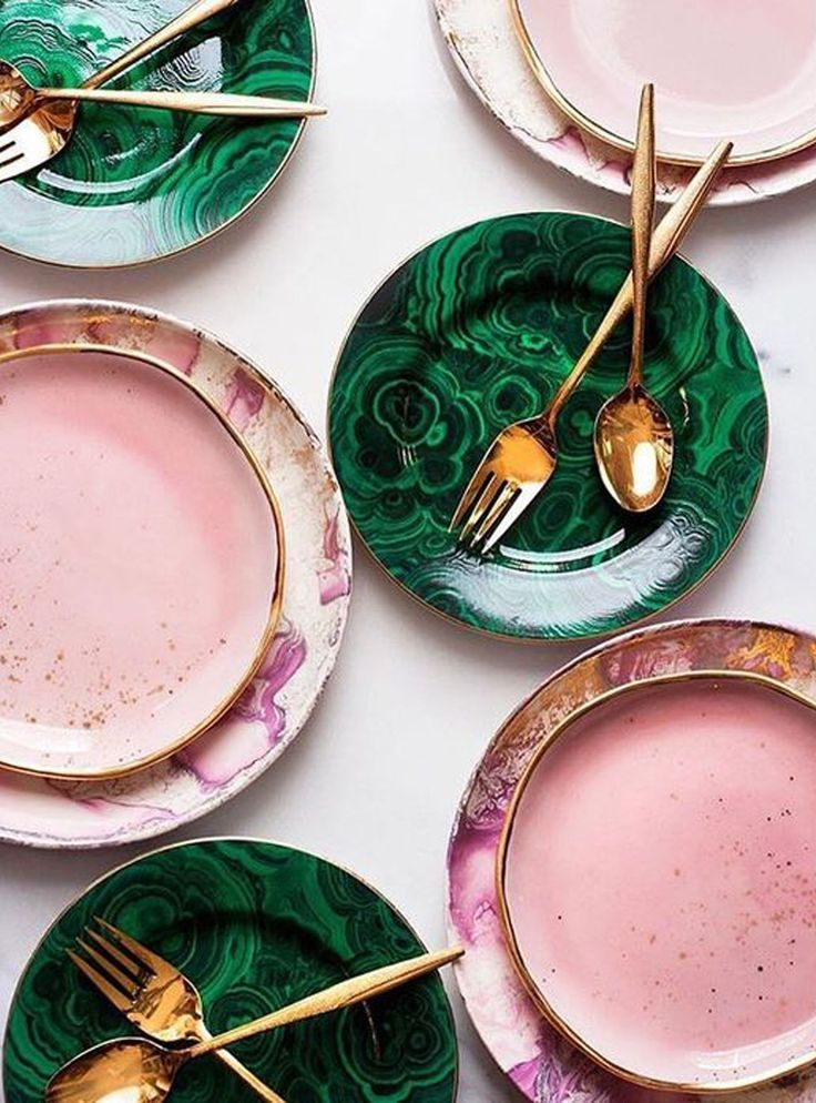 8 Ingenious Ways To Combine Pink & Green In Your Home #refinery29uk