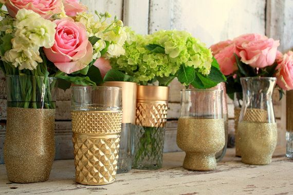 Painted Vases, Painting Vases And Dollar Store