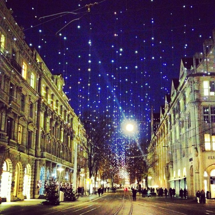Christmas in Zurich - Bahnhofstrasse