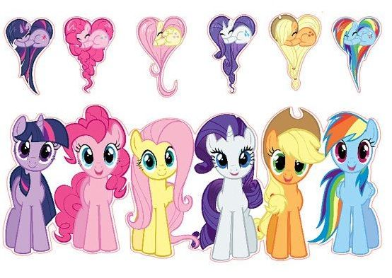 """2014 - The girls are no obsessed with all things """"My Little Pony"""""""